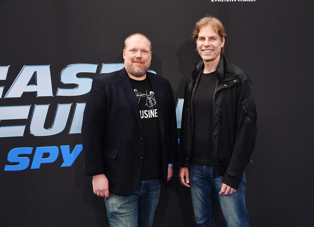 Showrunners Tim Hedrick and Bret Haaland