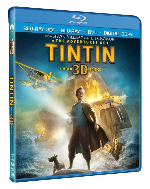 The Adventures of Tintin DVD/Blu-ray Combo Pack