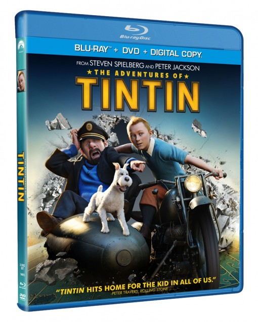 The Adventures of Tintin Blu-ray 3D/Blu-ray/DVD Combo Pack
