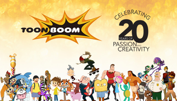 Toon Boom Celebrates 20th with Giveaways