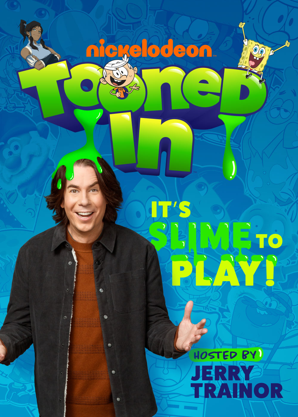 Jerry Trainor co-hosts S2 of Tooned In on Nickelodeon.