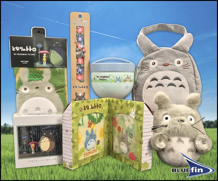 Totoro Prize Gift Basket by Bluefin