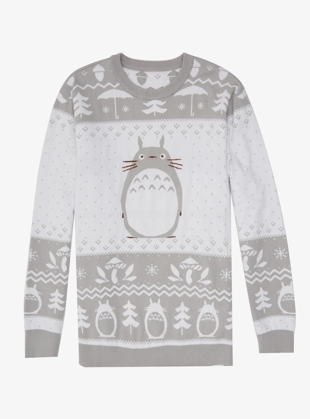 Totoro sweater