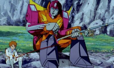A new species of Transformers learns to get along with humans in the upcoming Nickelodeon/eOne series. [image - Transformers: The Movie, 1986]