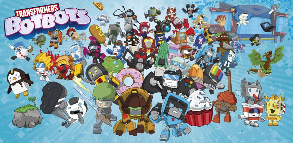 Transformers: BotBots brand art (Hasbro)