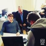 Alexey Tsitsilin (seated) & Robert Lence