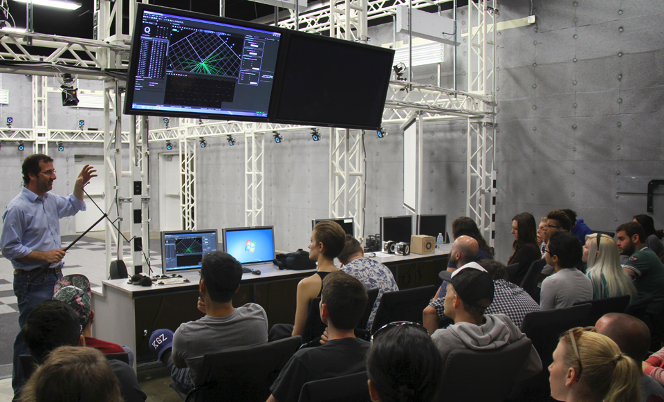 Usc Film School Opts For Optitrack