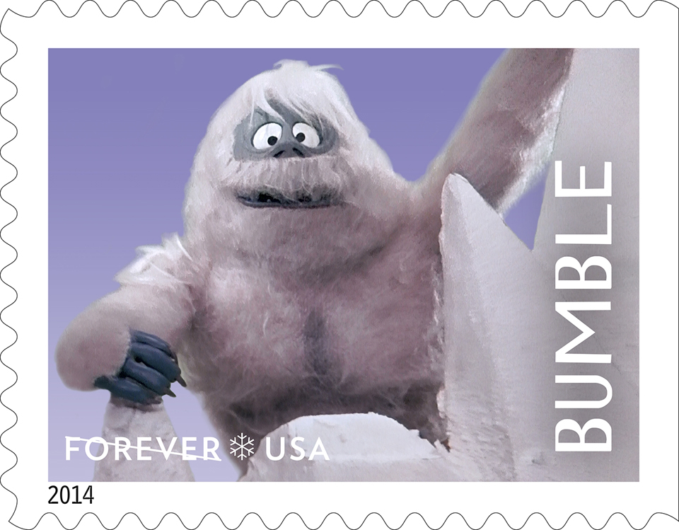 USPS Issues 'Rudolph' Forever Stamps