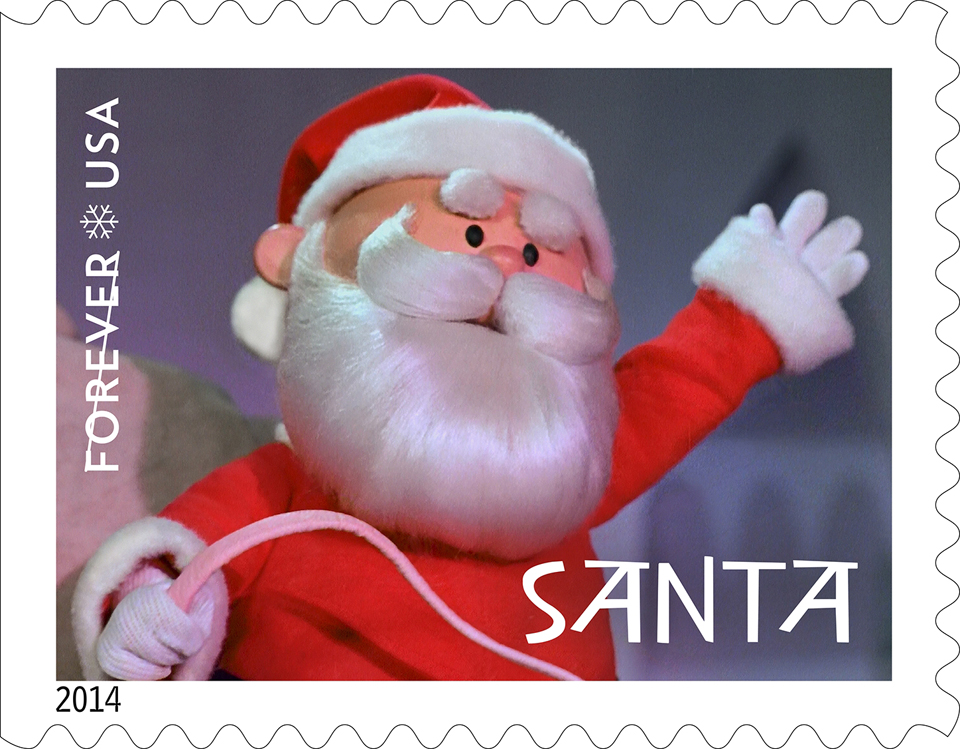 Usps Christmas Stamps.Usps Issues Rudolph Forever Stamps