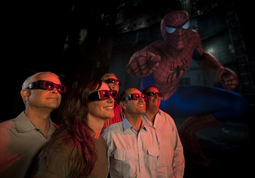 Members of the Universal Creative team at Universal Orlando Resort preview some of the new enhancements being made to The Amazing Adventures of Spider-Man