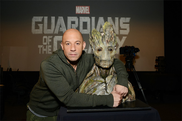 Vin Diesel will voice the tree-like character of Groot in James Gunn's Guardians of the Galaxy