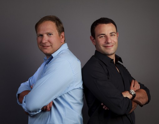 (from left) Vincent Chalvon-Demersay and David Michel