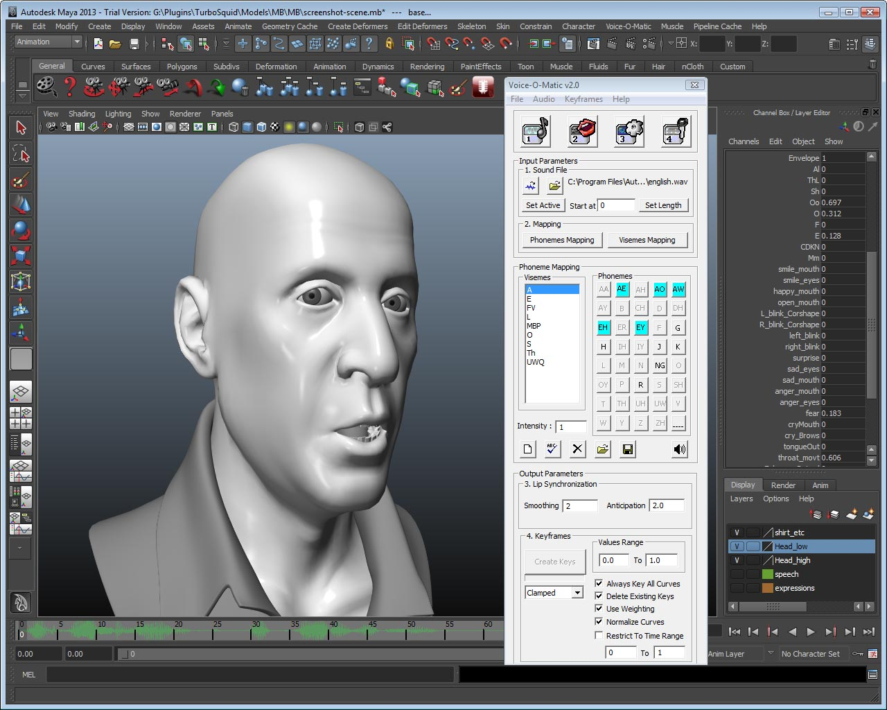Di-O-Matic releases Voice-O-Matic v2 for Maya