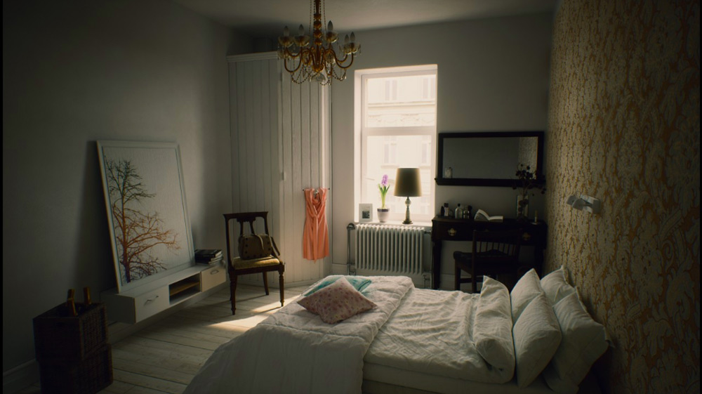 Photorealistic room created with V-Ray to UE4 by Aria Sebti