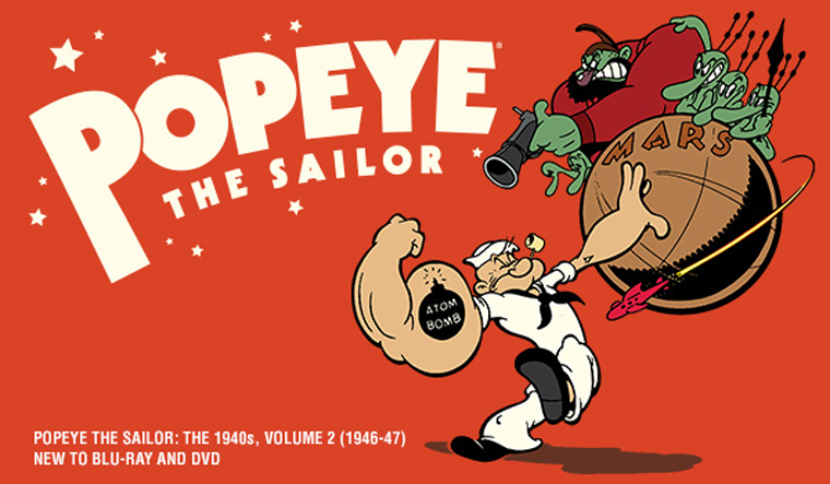 Popeye the Sailor: The 1940s