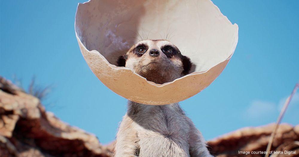 Meerkat, created by Weta Digital using Unreal Engine