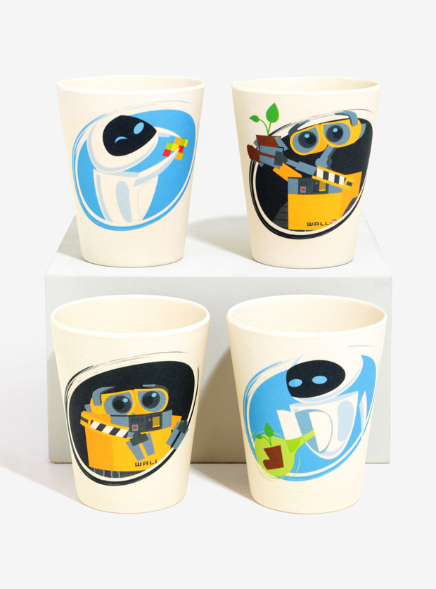 WALL•E Bamboo Cup Set
