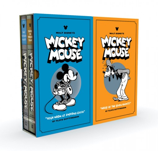 Walt Disney's Mickey Mouse, Vol. 3 & 4