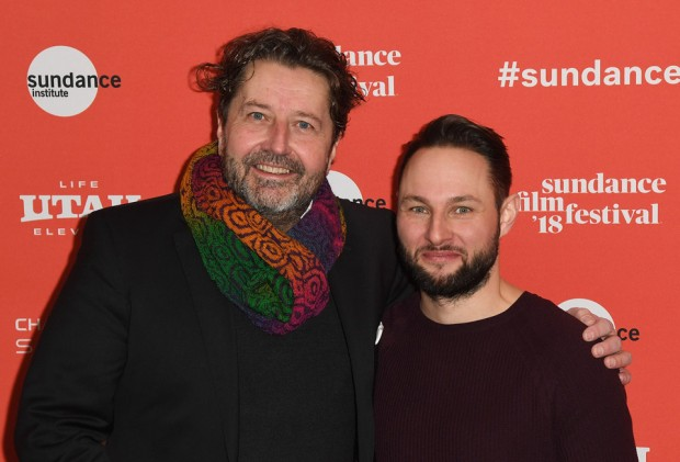 Guy Daleiden (CEO, Film Fund Luxembourg) and Alexandre Espigares (director). Photo copyright FILM FUND Luxembourg.