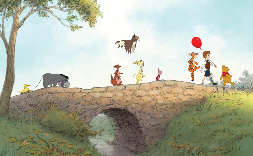 back to the days of christopher robin amp pooh