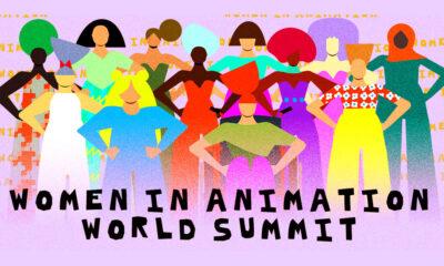 Artwork by Women in Animation World Summit 2021 featured artist Monica Ahanonu