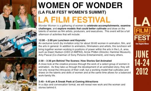 Women of Wonder - LA Film Fest Women's Summit