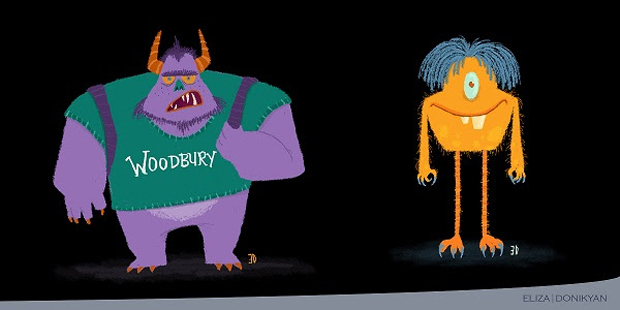 Woodbury Is Lucky No. 13 for Western Animation Schools