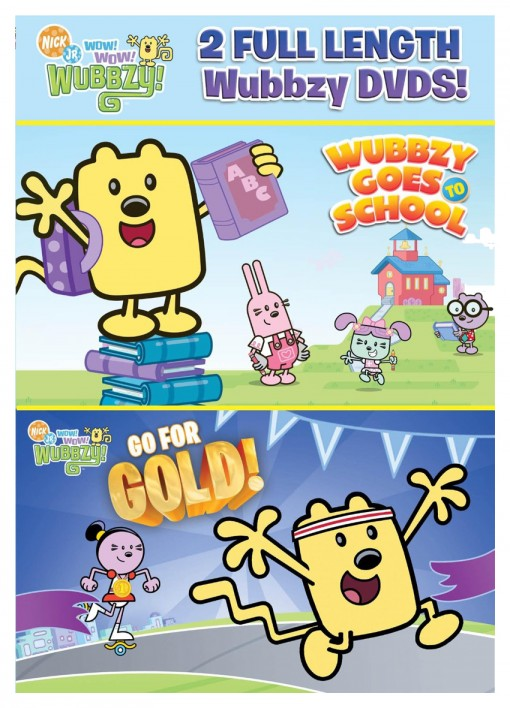 Wow! Wow! Wubbzy!: Back to School DVD pack