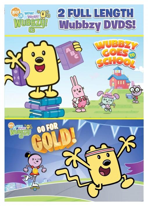 Wow! Wow! Wubbzy!: Back to School DVD pack
