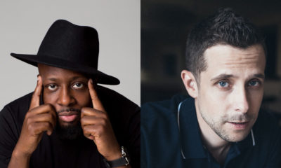Wyclef Jean and Justin Marks