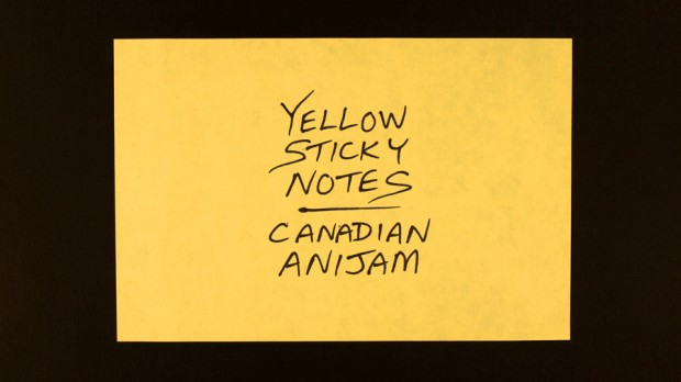 Yellow Sticky Notes | Canadian Anijam