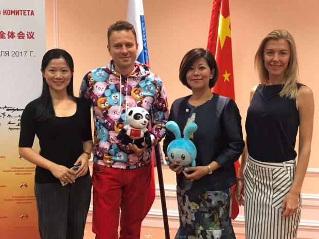 Zijing Wu, Ilya Popov, Wang Yan, and Diana Yurinova