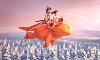 Zog BBC Christmas ident (Magic Light Pictures)