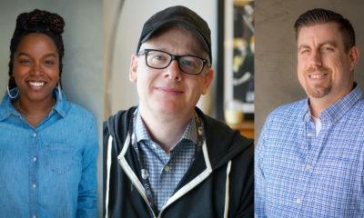 L-R: EP Lauren F. Ellis, EP Daniel Cohen, HoP Sean Tompkins