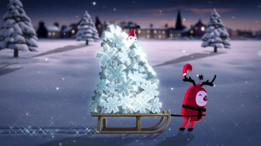 Aardman Animation's Text Santa
