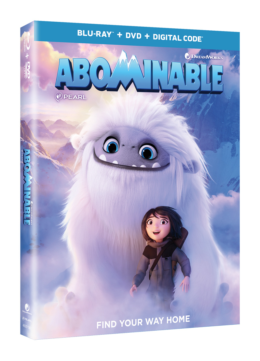 Image result for abominable (2019) blu ray