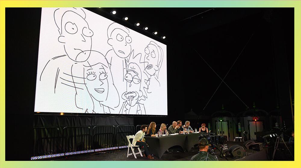 Rick and Morty panel