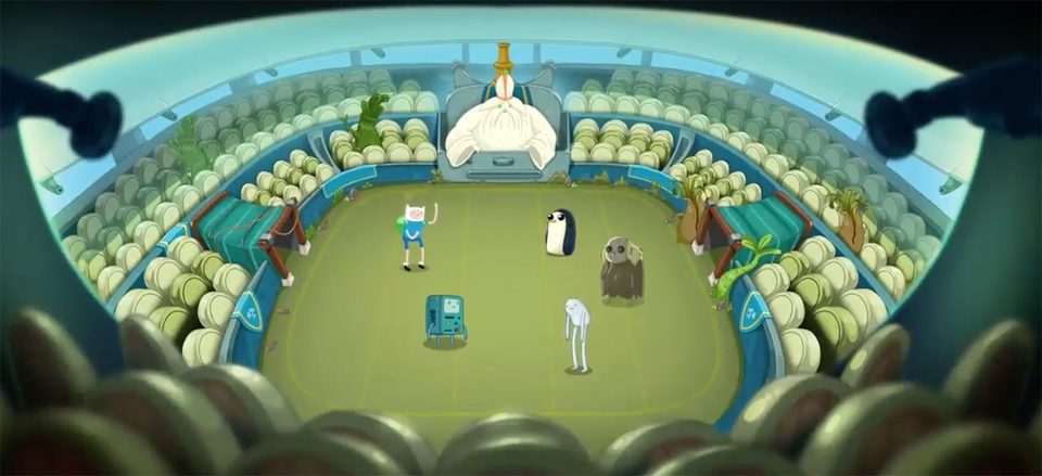 Trailer Adventure Time Game Champions Amp Challengers
