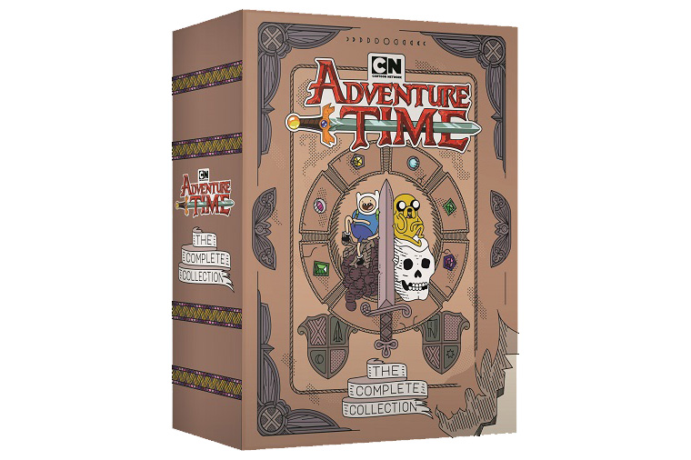 Revisit Ooo With Adventure Time Complete Set Ost Out