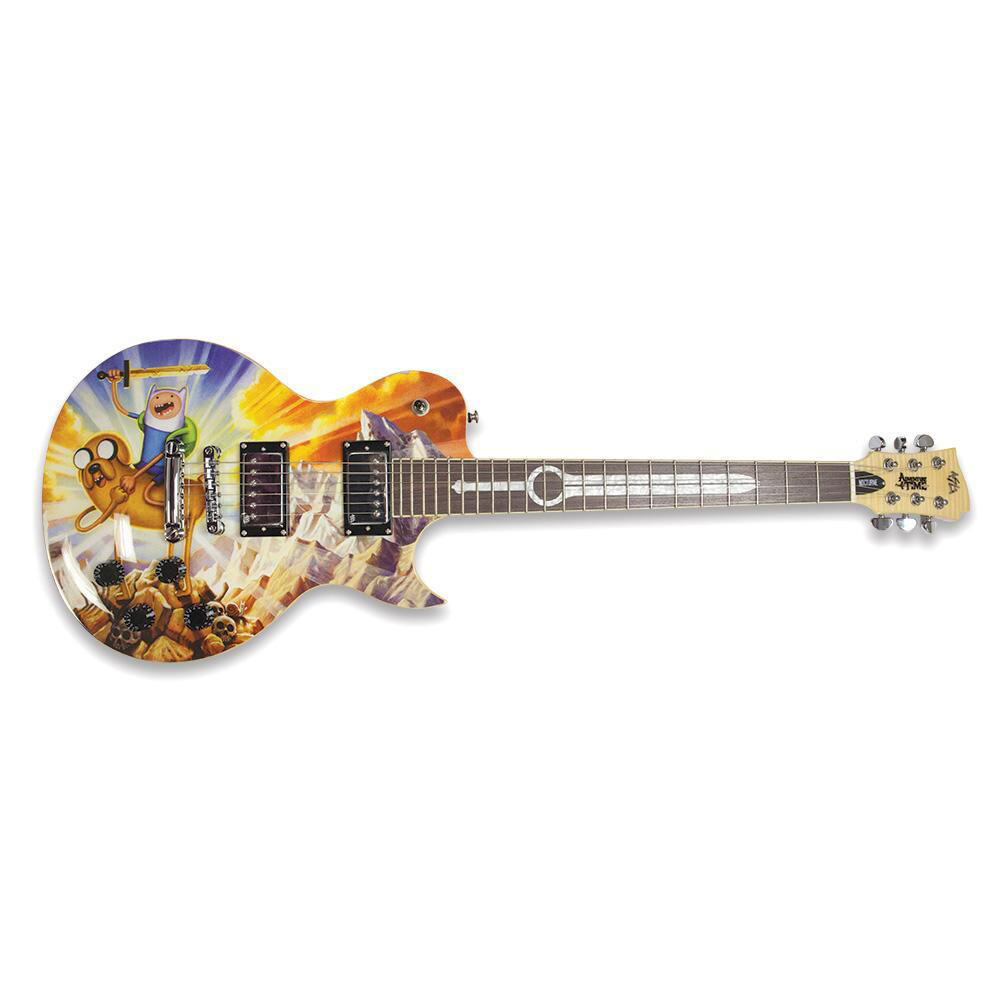 Adventure Time Limited Edition Guitar by ASG Guitars