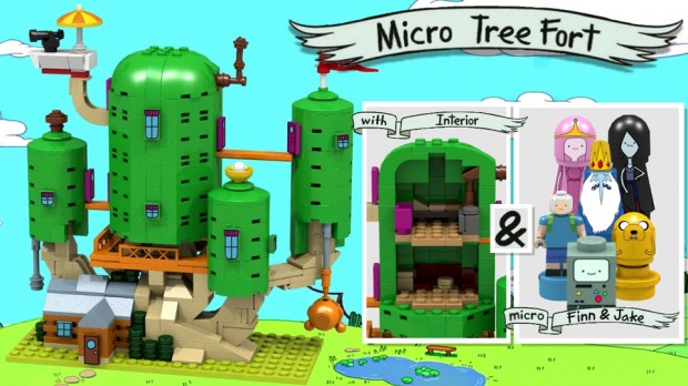 Adventure Time Is Getting the LEGO Treatment