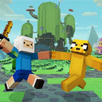 Adventure Time Minecraft Mashup