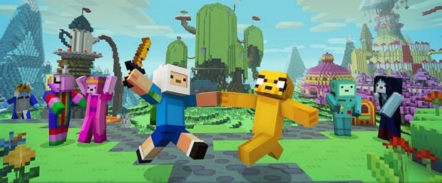 Adventure Time Minecraft Mashup