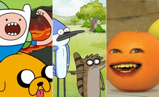 Cartoon Network continued to make us laugh with Adventure Time, Regular Show and Annoying Orange.