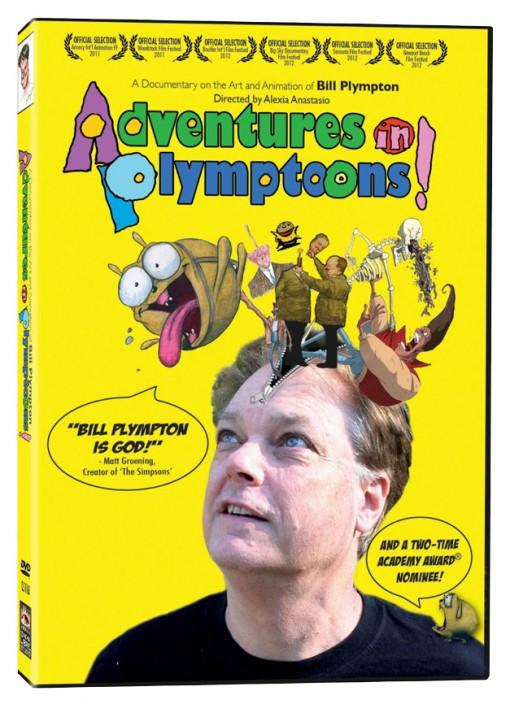 Adventures in Plymptoons! DVD