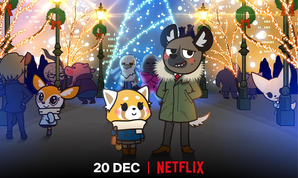 Aggretsuko Christmas.Aggretsuko We Wish You A Metal Christmas Hits Netflix Dec