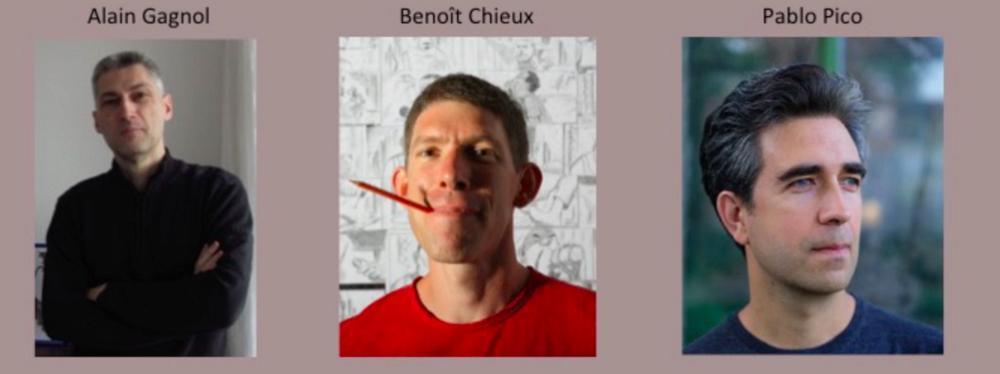 Alain Gagnol, Benoit Chieux, Pablo Pico