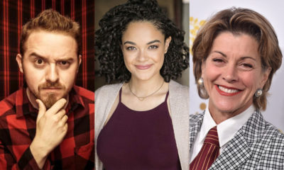 Alex Hirsch, Sarah Nicole Robles, and Wendie Malick