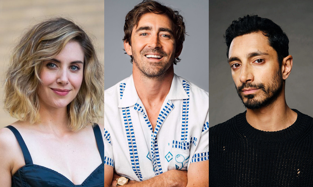 Alison Brie, Lee Pace, and Riz Ahmed