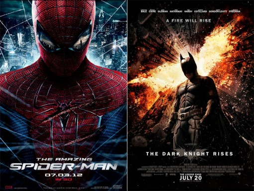 The Amazing Spider-Man / The Dark Knight Rises